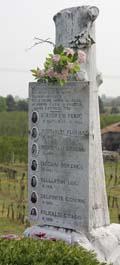 Cippo martiri del Senio
