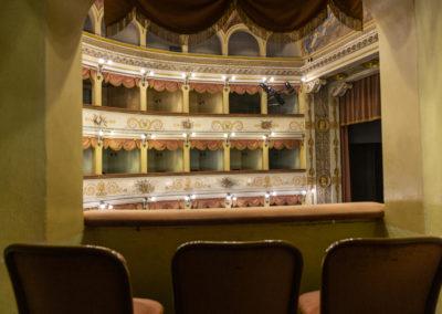 Teatro Carlo Goldoni Bagnacavallo Palchetti