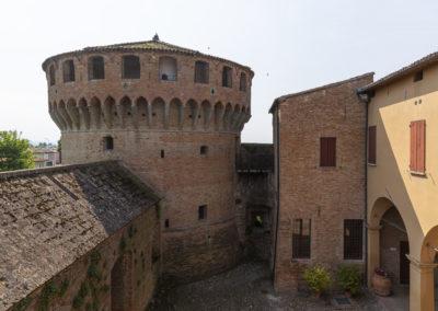 Bagnara di Romagna Rocca interno