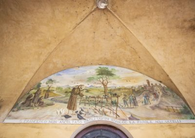 Chiesa San Francesco Cotignola affresco