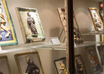 Fusignano Museo Civico San Rocco targhe devozionali