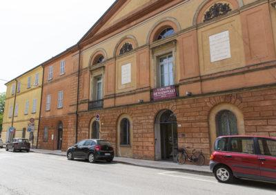 Fusignano-Museo Civico San Rocco facciata