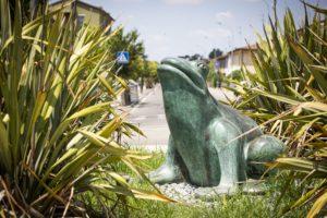 Monumento al ranocchio Conselice