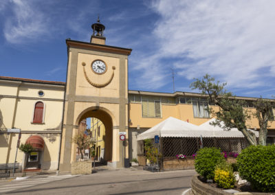 Sant'Agata sul Santerno torre Civica