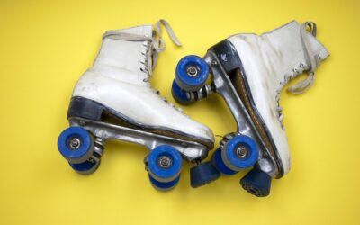 UP AND DOWN INDOOR ROLLER SKATES
