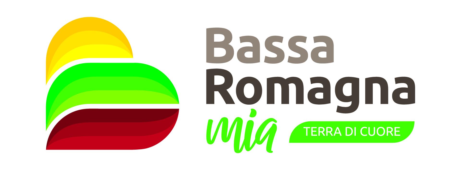 Logo Bassa Romagna Mia - Terra di Cuore