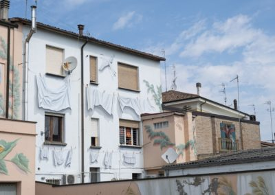 Piazzetta Guareschi Conselice dettaglio 4