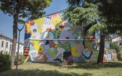 "STREET ART IN COTIGNOLA: ""Dal museo al paesaggio"" (From museum to landscape)"