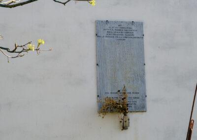 La memoria nel paesaggio, Lapide, Massa Lombarda, Lapide in memoria delle famiglie Baffè