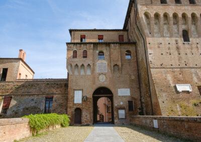 La memoria nel paesaggio, Lapide, Lugo, Memoria, Percorsi, Rocca estense